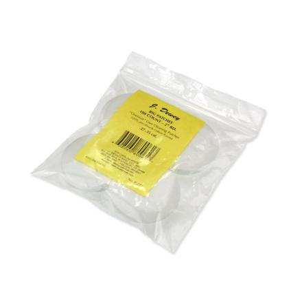 Dewey Round Patches 50mm (100/Bag)