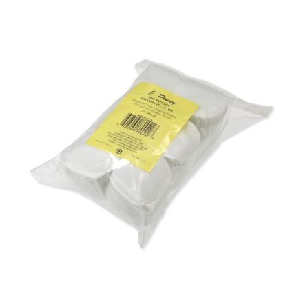 Dewey Round Patches 50mm (500/Bag)