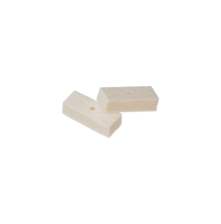 Dewey LF Replacement Felts Pre-Drilled (2psc)