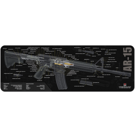 TekMat AR-15 3D Cutaway