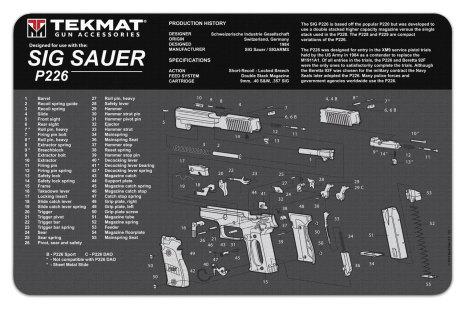 TekMat Sig Sauer P226